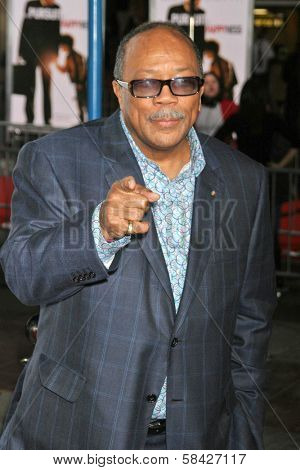WESTWOOD, CA - DECEMBER 07: Quincy Jones at the premiere of