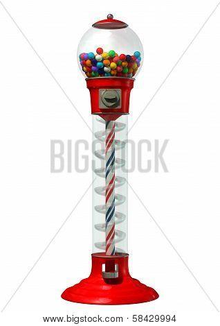 Gumball Dispensing Machine