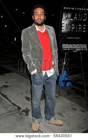 LOS ANGELES - DECEMBER 09: Ben Harper at the Los Angeles Premiere of Inland Empire at LACMA December 09, 2006 in Los Angeles, CA.