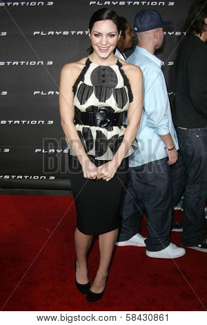 Katharine McPhee at the Playstation 3 Launch Party. 9900 Wilshire Boulevard, Beverly Hills, California. November 8, 2006.