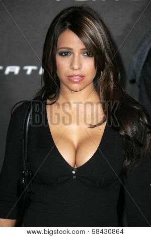 Vida Guerra at the Playstation 3 Launch Party. 9900 Wilshire Boulevard, Beverly Hills, California. November 8, 2006.