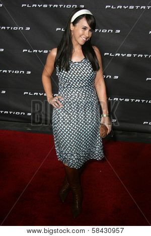 Lacey Chabert at the Playstation 3 Launch Party. 9900 Wilshire Boulevard, Beverly Hills, California. November 8, 2006.