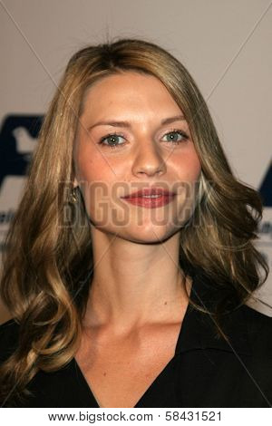 Claire Danes at the Friends of the Los Angles Free Clinic Annual Dinner Gala. Beverly Hilton Hotel, Beverly Hills, California, November 20, 2006.