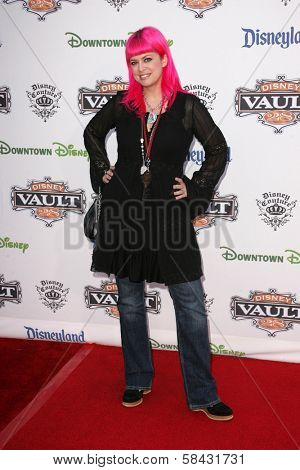 Tarina Tarantino at the Disney Vault 28 Opening, Downtown Disney, Anaheim, California. November 12, 2006.