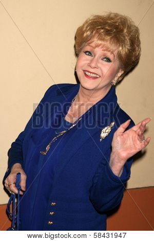 Debbie Reynolds at the tribute show