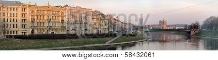 Neris River At Vilnius