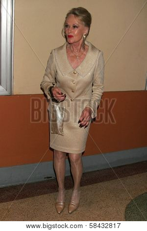 Tippi Hedren at the tribute show