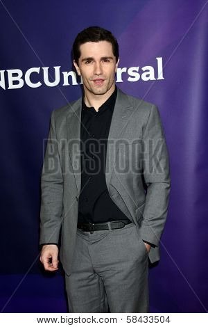 Sam Witwer at NBCUniversal's