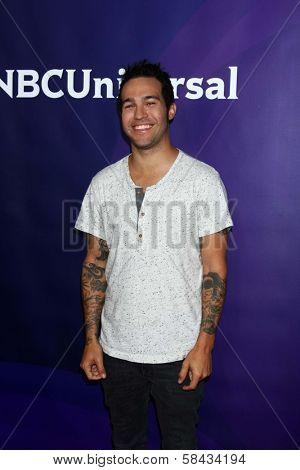 Pete Wentz at NBCUniversal's