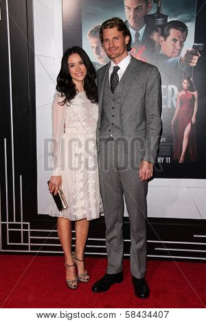 Abigail Spencer, Josh Pence at the