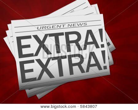 Extra Newspaper
