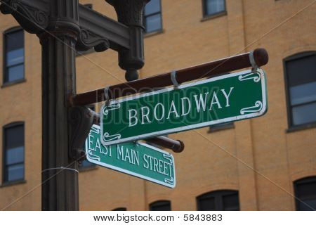 Common Street Sign Names