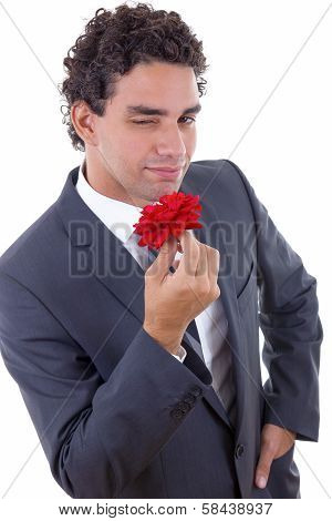 Seducer With Rose