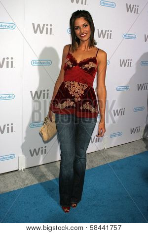 Kristin Holt at the party celebrating the launch of Nintendo's Game Console Wii. Boulevard 3, Los Angeles, California. November 16, 2006.
