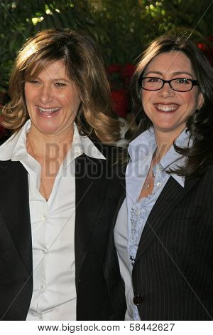 LOS ANGELES - DECEMBER 05: Amy Pasca and Stacey Sherl at the 15th Annual The Hollywood Reporter's 2006 Women In Entertainment Power 100 at Beverly Hills Hotel December 05, 2006 in Beverly Hills, CA.