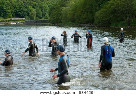 Triathlete Swimmers