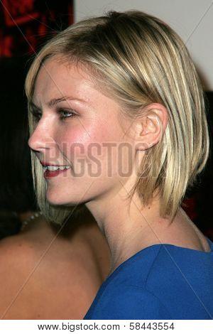 LOS ANGELES - DECEMBER 02: Kirsten Dunst at the