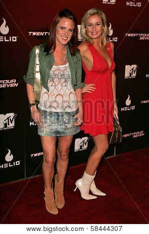 Wrenna Monet and Amber Hay at the Party Launching the new MTV series