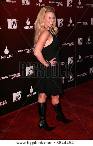 Tamie Sheffield at the Party Launching the new MTV series