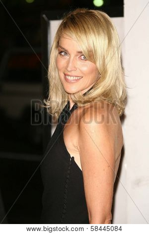 Sharon Stone at the AFI Fest 2006 Opening Night Premiere of
