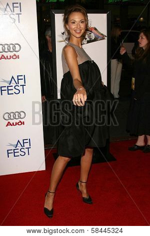 Svetlana Metkina at the AFI Fest 2006 Opening Night Premiere of