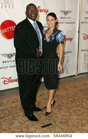 Randy Jackson and wife at the Make-A-Wish Wish Night 2006 Awards Gala, Beverly Hills Hotel, Beverly Hills, California. November 17, 2006.