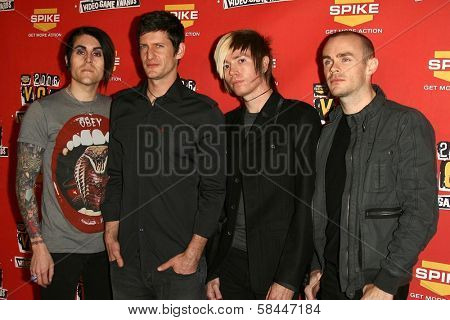 AFI at Spike TV's 2006 Video Game Awards. The Galen Center, Los Angeles, California. December 8, 2006.