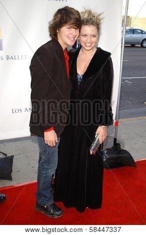 Devon Werkheiser and Lauren Storm at the Los Angeles Ballet premiere of