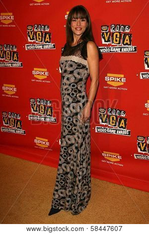 Emmanuelle Vaugier at Spike TV's 2006 Video Game Awards. The Galen Center, Los Angeles, California. December 8, 2006.