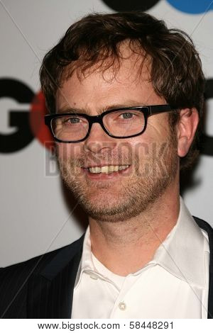 LOS ANGELES - NOVEMBER 29: Rainn Wilson at the GQ Man of the Year Awards at Sunset Tower Hotel November 29, 2006 in Los Angeles, CA.
