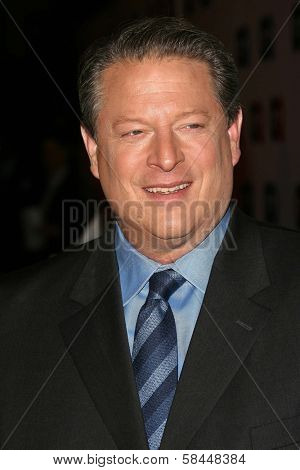 LOS ANGELES - NOVEMBER 29: Al Gore at the GQ Man of the Year Awards at Sunset Tower Hotel November 29, 2006 in Los Angeles, CA.