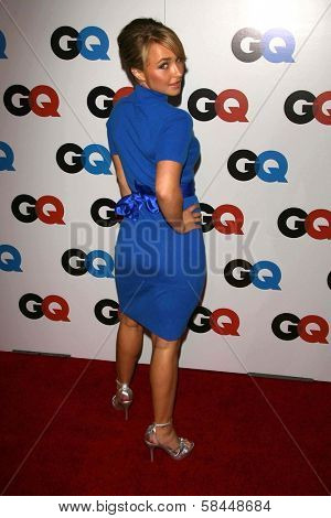 LOS ANGELES - NOVEMBER 29: Hayden Panettiere at the GQ Man of the Year Awards at Sunset Tower Hotel November 29, 2006 in Los Angeles, CA.