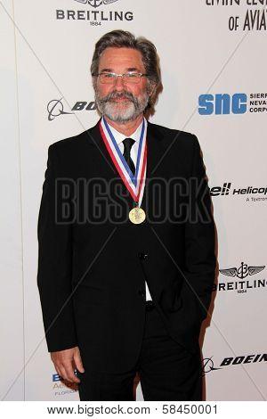 Kurt Russell at Living Legends of Aviation, Beverly Hilton, Beverly Hills, CA 01-18-13