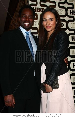 Harold Perrineau at HBO's Official Golden Globe Award After Party, Beverly Hilton Hotel, Beverly Hills, CA 01-13-13