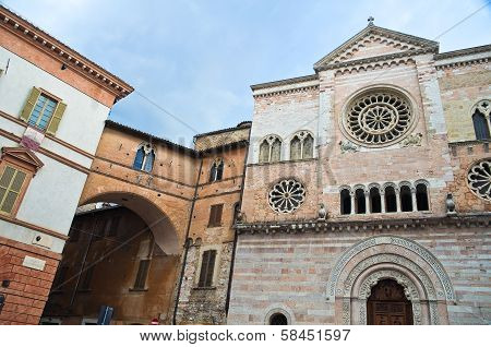 St. Feliciano Cathedral. Foligno. Umbria. Italy.