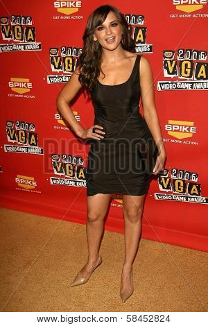 Rachael Leigh Cook at Spike TV's 2006 Video Game Awards. The Galen Center, Los Angeles, California. December 8, 2006.