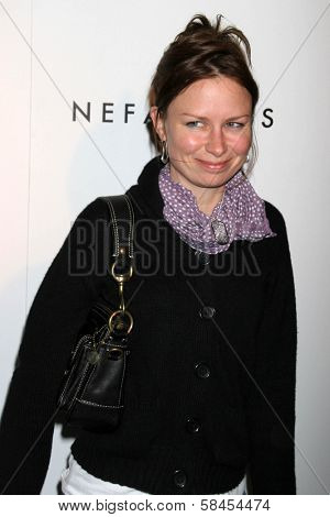 HOLLYWOOD - DECEMBER 11: Mary Lynn Rajskub at the Nefarious Fine Jewelry Spring 2007 Collection and Holiday Party on December 11, 2006 at Shag, Hollywood, CA.
