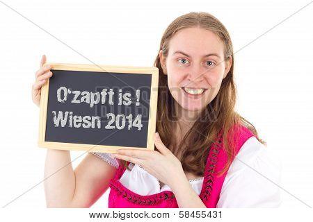 Pretty Woman Shows Board : O Zapft Is ! Wiesn 2014
