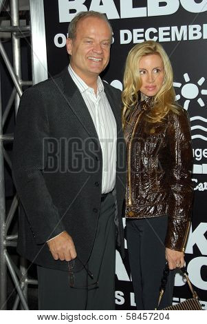 HOLLYWOOD - DECEMBER 13: Kelsey Grammer and Camille Grammer at the world premiere of