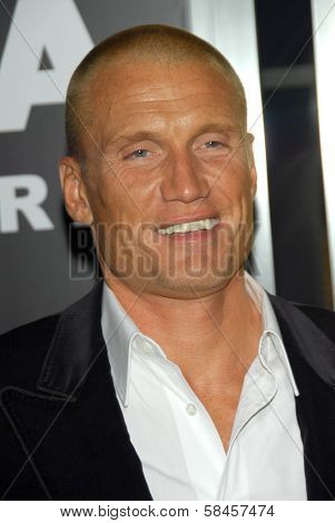 HOLLYWOOD - DECEMBER 13: Dolph Lundgren at the world premiere of
