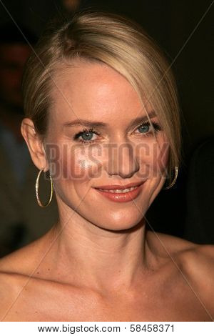 HOLLYWOOD - DECEMBER 13: Naomi Watts at the Los Angeles Premiere of