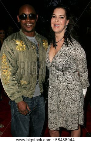 Bokeem Woodbine and Joanie Laurer at the 11th Annual Multicultural Prism Awards. Sheraton Universal Hotel, Universal City, California. December 10, 2006.
