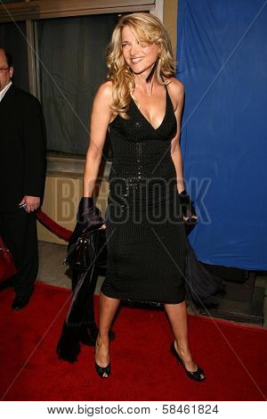 Lucy Lawless at the premiere of