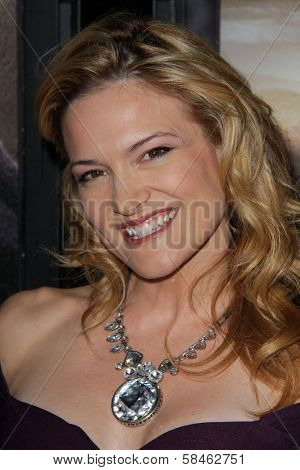 Victoria Pratt at the
