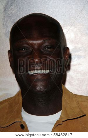 Peter Mensah at the