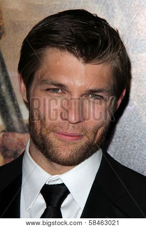 Liam McIntyre at the