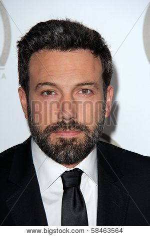 Ben Affleck at the 24th Annual Producers Guild Awards, Beverly Hilton, Beverly Hills, CA 01-26-13