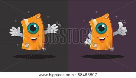 I am a credit card, your mascot