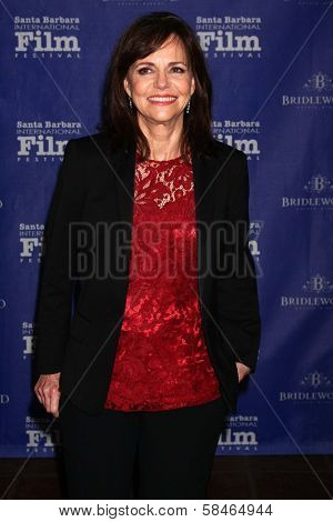 Sally Field at the SBIFF Montecito Award 2013 Honoring Daniel Day-Lewis, Arlington Theater, Santa Barbara, CA 01-26-13