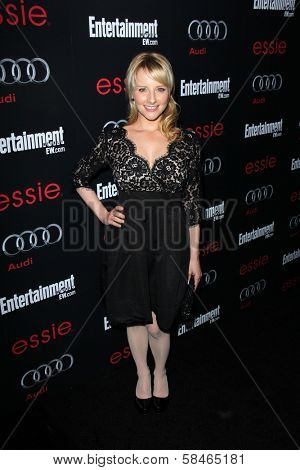Melissa Rauch at the Entertainment Weekly Pre-SAG Party, Chateau Marmont, West Hollywood, CA 01-26-13